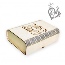 """New Year's musical box """"TIGER"""" - with your music"""