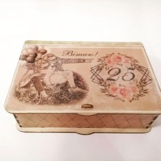 "Music box ""IN DECOUPAGE STYLE"" - with its own melody"
