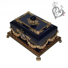 Musical casket for jewelry LITTLE TREASURE - with your sound