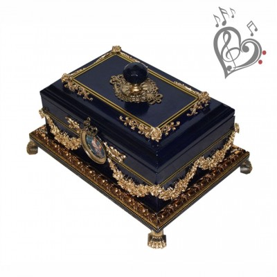 Exclusive handmade music casket - Little Treasure Chest