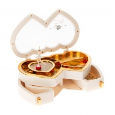 "Music box ""TWO HEARTS"" in a gift box"