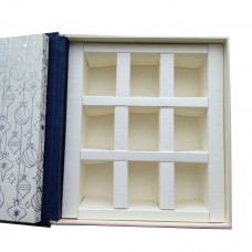 Musical Christmas packaging in the form of a book - custom-made