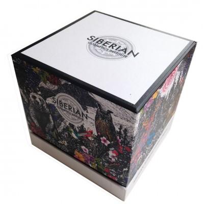 Musical cardboard packaging for perfumes - small circulation