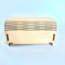"""Small music box """"CHEST"""" for rings - with your musical / voice recognition"""
