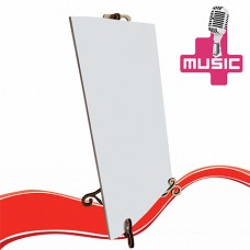 Musical card for creativity WITH YOUR SOUND + stand