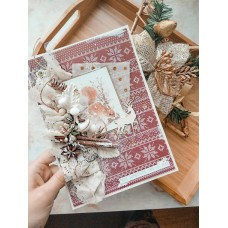 """Musical New Year's author's card """"FOREST MUSE"""""""