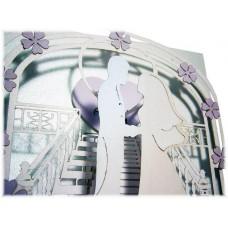 Музыкальные свадебные удивительные открытки КИРИГАМИ - с вашим звуком