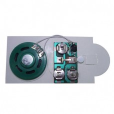Sound module chip for music cards