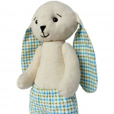 "Author's musical soft toy ""little rabbit"" with YOUR SOUND, 25 cm"